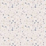 Granit Steinterrazzo-Bodenbeschaffenheit Abstrakter Hintergrund, nahtloses Muster stock abbildung