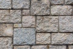 Granit tectured und Blockwand, Abstact-Hintergrund Stockfotografie