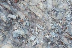 Granit tekstury kamienna powierzchnia - Czarny Granitowy abstrakt dla Wallp Zdjęcie Stock