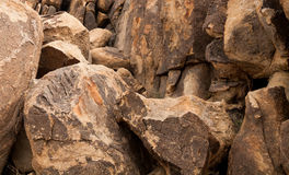 Granit vaggar royaltyfri bild
