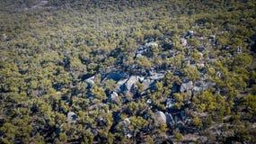 Granit vaggar bildande i Stanthorpe, Queensland, Australien Royaltyfria Bilder