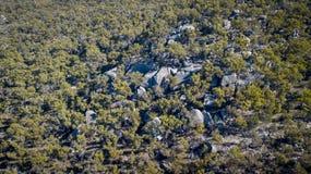 Granit vaggar bildande i Stanthorpe, Queensland, Australien Royaltyfri Foto