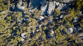 Granit vaggar bildande i Stanthorpe, Queensland, Australien Royaltyfri Bild
