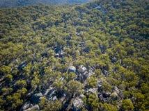Granit vaggar bildande i Stanthorpe, Queensland, Australien Arkivbild