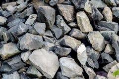 Granit zerquetschter Stein lizenzfreies stockfoto