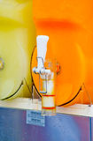 Granita machine, refreshment for the thirst of the hot months Royalty Free Stock Photo