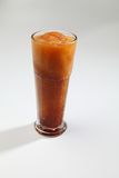Granita slush tea. Cup of granita  tea Stock Photography