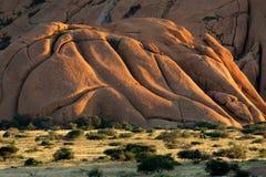 Granitberg, Spitzkoppe, Namibia Lizenzfreies Stockbild
