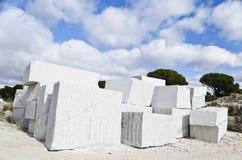 Granitblöcke Stockbilder