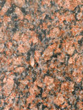 Granite. Fragment of a granite wall Stock Photography