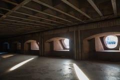Battery Shwede, fort Constantine, Kronstadt stock photos