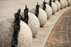 Granite balls Royalty Free Stock Image