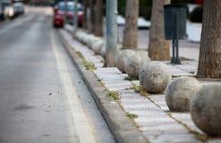 Granite balls Stock Photos