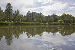 Granite Basin Lake Reflection Royalty Free Stock Image