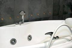Granite bath spa Stock Photo