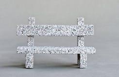 Granite bench Royalty Free Stock Photo