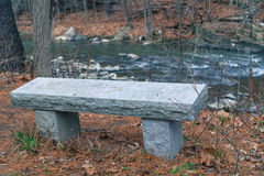 Granite bench Royalty Free Stock Photography
