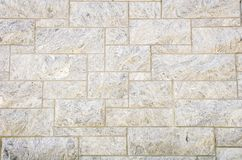 Granite Block Wall Royalty Free Stock Photography