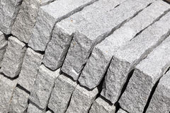 Granite blocks Stock Images