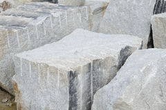 Granite blocks for construction Royalty Free Stock Photo