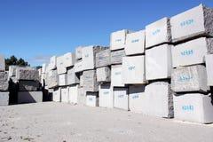 Granite Blocks Stock Photo