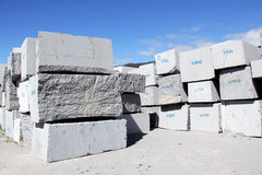 Granite Blocks Royalty Free Stock Photos