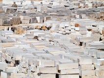 Granite blocks Stock Image