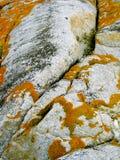 Granite boulder Royalty Free Stock Image