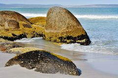 Granite Boulders Stock Photography