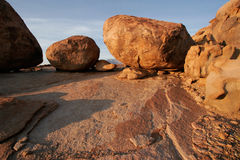 Granite boulders, Brandberg mountain, Namibia Stock Images