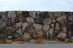 Granite boulders with sky Stock Image
