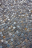 Granite brick road Royalty Free Stock Image