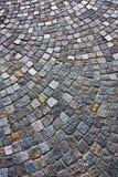Granite brick road Royalty Free Stock Image