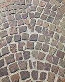 Granite brick road Stock Photography