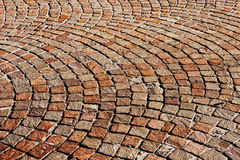Granite brick road Royalty Free Stock Photos