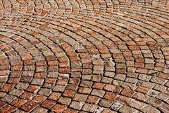 Granite brick road Royalty Free Stock Photos