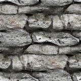 Granite brick wall seamless background texture Stock Photography