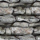 Granite brick wall seamless background texture Stock Photography