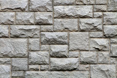 Granite brick wall texture and background Royalty Free Stock Photos