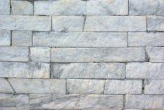Granite bricks white wall texture blocks wall Royalty Free Stock Photography