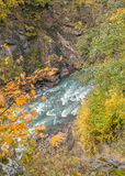 Granite canyon in gorge Guzeripl. Stock Photography
