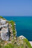 Granite cliffs Stock Photography