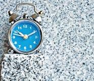 Granite clock Stock Photo