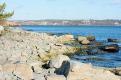 Granite coastline Stock Photography