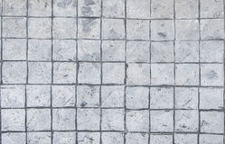 Granite cobble stone brick pavement background. Floor Royalty Free Stock Photo