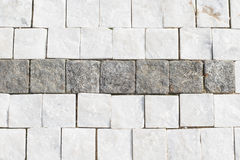 Granite cobblestone background Royalty Free Stock Images