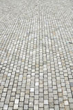 Granite cobblestoned pavement background Royalty Free Stock Photos