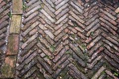 Granite cobblestoned pavement background Stock Photography