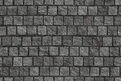 Granite cobblestoned pavement Royalty Free Stock Image
