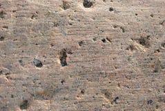Granite. Colorful granite design. Stone Background of mottled gr Royalty Free Stock Image